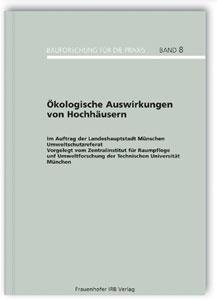Buch: Ökologische Auswirkungen von Hochhäusern