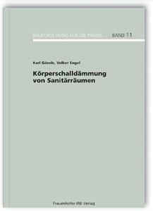 Buch: Körperschalldämmung von Sanitärräumen