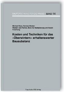 Buch: Kosten und Techniken für das