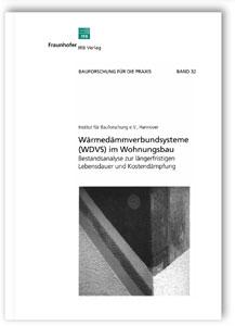 Buch: Wärmedämmverbundsysteme (WDVS) im Wohnungsbau