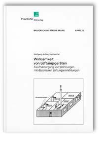 Buch: Wirksamkeit von Lüftungsgeräten