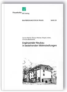 Buch: Ergänzender Neubau in bestehenden Wohnsiedlungen