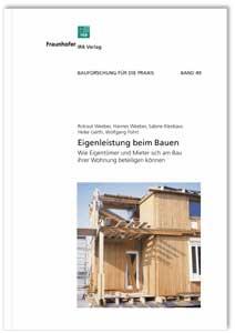Buch: Eigenleistung beim Bauen