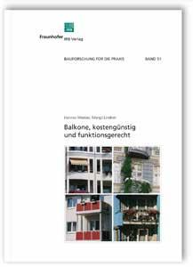 Buch: Balkone, kostengünstig und funktionsgerecht
