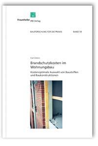 Buch: Brandschutzkosten im Wohnungsbau