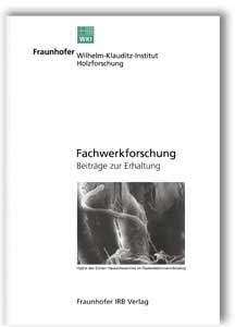 Buch: Fachwerkforschung
