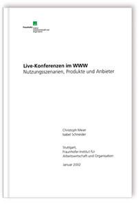 Buch: Live-Konferenzen im WWW