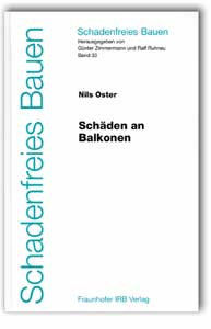 Buch: Schäden an Balkonen