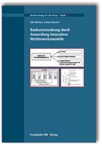 Buch: Baukostensenkung durch Anwendung innovativer Wettbewerbsmodelle