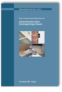 Buch: Schwachstellen beim Kostengünstigen Bauen