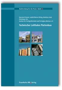 Buch: Technischer Leitfaden Plattenbau