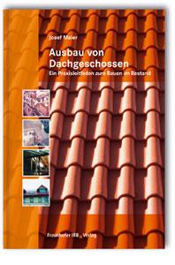 Buch: Ausbau von Dachgeschossen