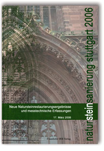 Buch: Natursteinsanierung Stuttgart 2006