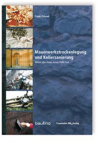 Buch: Mauerwerkstrockenlegung und Kellersanierung