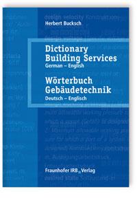Buch: Wörterbuch Gebäudetechnik. Band 2 Deutsch - Englisch
