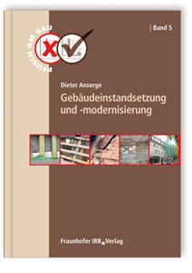 Buch: Gebäudeinstandsetzung und -modernisierung