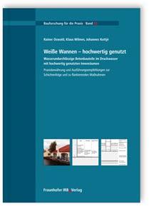 Buch: Weiße Wannen - hochwertig genutzt