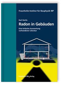 Buch: Radon in Gebäuden