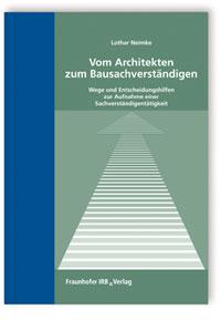 Buch: Vom Architekten zum Bausachverständigen