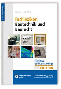 Buch: Fachlexikon Bautechnik und Baurecht
