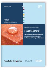 Buch: Forum Altbausanierung 1. Feuchteschutz