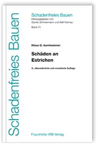 Buch: Schäden an Estrichen