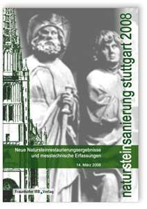 Buch: Natursteinsanierung Stuttgart 2008