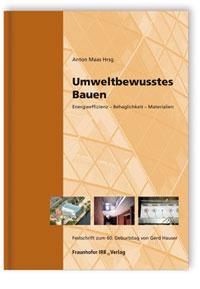 Buch: Umweltbewusstes Bauen