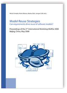 Buch: Model Reuse Strategies. Can requirements drive reuse of software models?