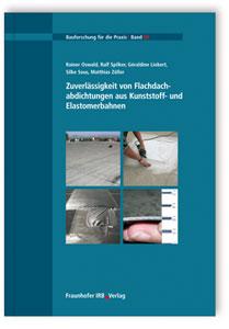 Buch: Zuverlässigkeit von Flachdachabdichtungen aus Kunststoff- und Elastomerbahnen