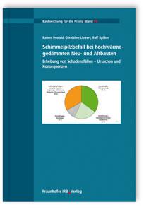 Buch: Schimmelpilzbefall bei hochwärmegedämmten Neu- und Altbauten. Erhebung von Schadensfällen - Ursachen und Konsequenzen