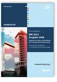 Buch: DIN 1045 Ausgabe 2008: Tragwerke aus Beton und Stahlbeton