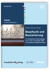 Buch: Forum Altbausanierung 3. Bauphysik und Bausanierung