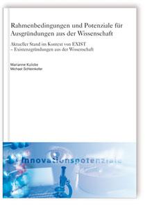 Buch: Rahmenbedingungen und Potenziale für Ausgründungen aus der Wissenschaft
