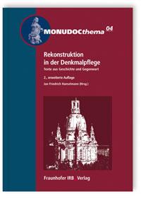 Buch: Rekonstruktion in der Denkmalpflege