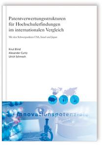 Buch: Patentverwertungsstrukturen für Hochschulerfindungen im internationalen Vergleich