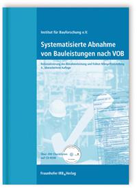 Buch: Systematisierte Abnahme von Bauleistungen nach VOB