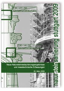 Buch: Natursteinsanierung Stuttgart 2009