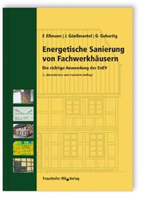 Buch: Energetische Sanierung von Fachwerkhäusern