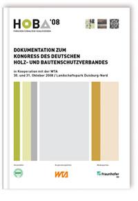 Buch: Dokumentation zum Kongress des Deutschen Holz- und Bautenschutzverbandes