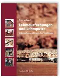 Buch: Lehmausfachungen und Lehmputze