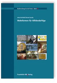 Buch: Wohnformen für Hilfebedürftige