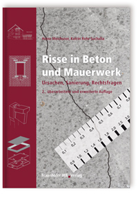 buch risse in beton und mauerwerk fraunhofer irb. Black Bedroom Furniture Sets. Home Design Ideas