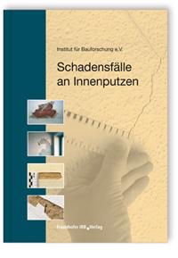Buch: Schadensfälle an Innenputzen