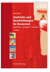 Buch: Anstriche und Beschichtungen im Bauwesen