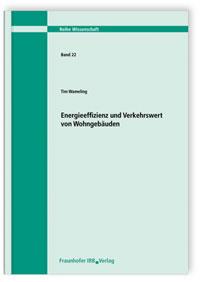 Buch: Energieeffizienz und Verkehrswert von Wohngebäuden