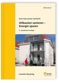 Buch: Altbauten sanieren - Energie sparen