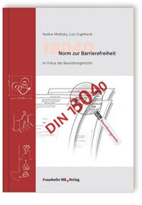 Buch: 18040 Norm zur Barrierefreiheit im Fokus des Bauordnungsrechts