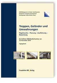 Buch: Treppen, Geländer und Umwehrungen