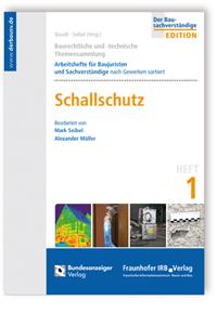 Buch: Baurechtliche und -technische Themensammlung. Heft 1: Schallschutz